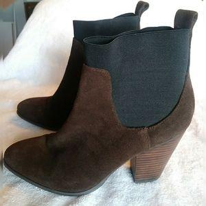 Victorias Secret Suede Ankle Bootie size 8.5